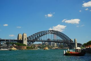 The one and only Sydney Harbour Bridge